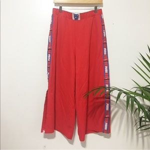 New / puma side slit wide pant